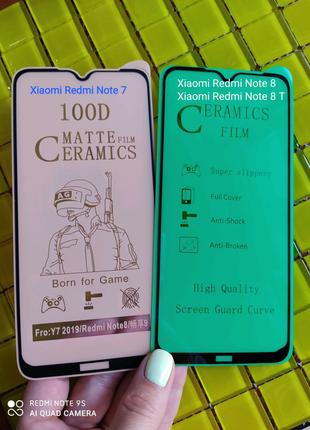 Пленка плівка силікон Xiaomi Redmi Note 7 8 8 T