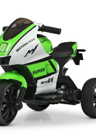Детский мотоцикл Yamaha M 4135 EL-1-5, кожаное сиденье