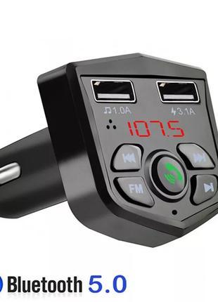 FM Bluetooth Трансмиттер - 3.1А Блютус, в Авто, Машину Модулятор