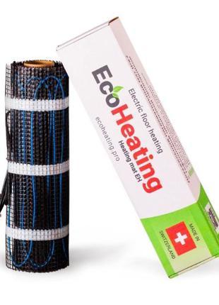 Нагревательный мат EcoHeating 1м2 теплый пол