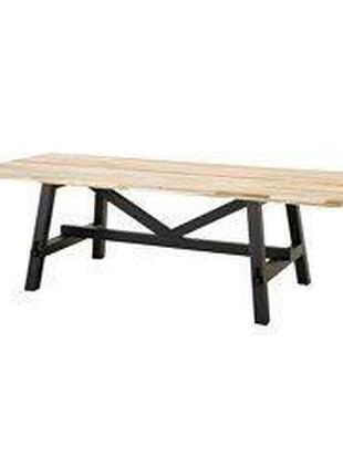 Стіл лофт, стіл для саду лофт на замовлення, лофт стол