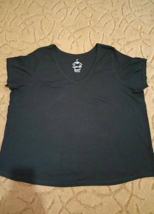 Хлопковая футболка большой размер 58-62