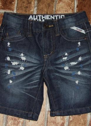 Модные джинсовые шорты 5 лет