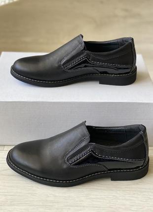 Распродажа, классические кожаные туфли на мальчика