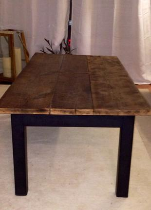 Стол обеденный лофт, лофт стол на заказ, стіл лофт обідній