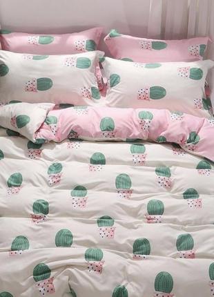 Постельное белье с кактусами бязь голд