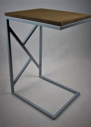 Журнальний столик на замовлення, стол лофт журанльный, лофт
