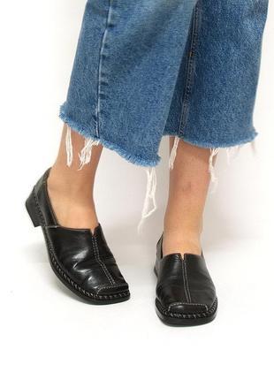 Туфли антистресс, rieker, натуральная кожа