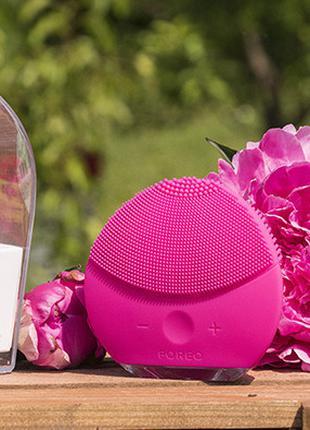 Электронная щетка для чистки лица Foreo Luna mini 2- массажёр Фор