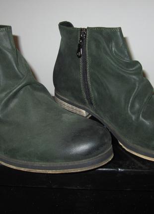 Мужские ботинки натуральная замша 2020