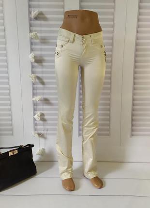 Брюки летние скинни скини джинсы лосины, s