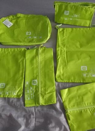 Набор сумок чехлов для чемодана 6 штук