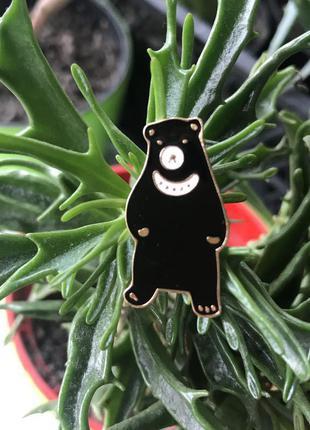 Пин мишка брошка медведь значок на подарок