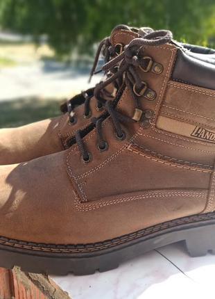 Кожаные зимние ,ботинки landrover 45-46