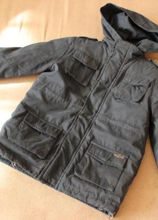 Демисезонная куртка 2 в 1 как NEXT на 3-4 года