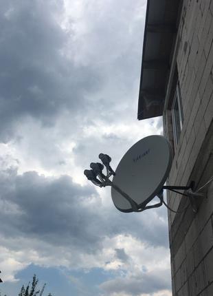 Ремонт спутниковых и Т2 антенн