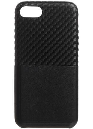 Чехол для iPhone 7 черный и красный Avatti Mela Tasca Black Red