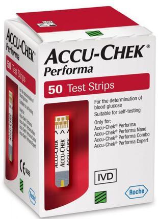 Тест-Смужки Accu-Chek Performa