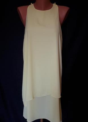 Желто- лимонное платье atmosphere ( размер 12-14)