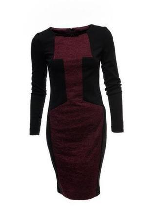 Дизайнерское платье с ажурными вставками от андре тана