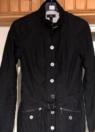 Куртка с воротником-стойкой mango