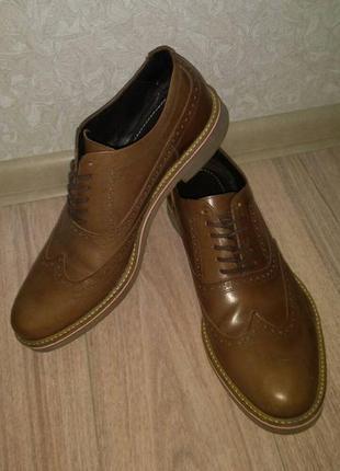 Мужские туфли броги villione