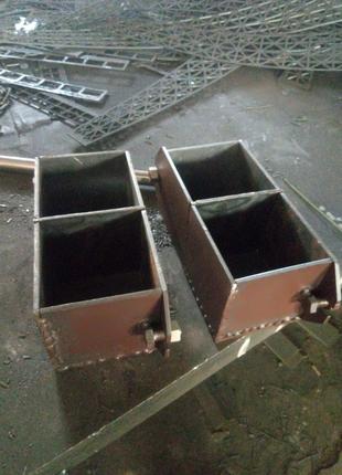 Форма куба для бетона 2фк-100