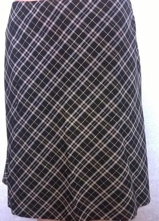 Теплая юбка средней длины untitled