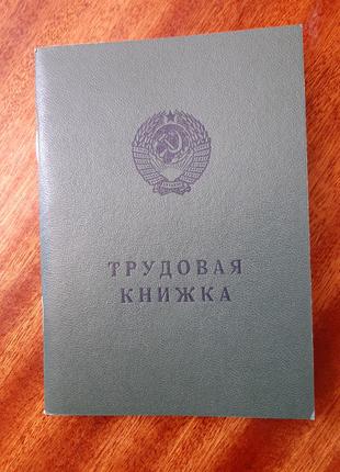 Трудова книжка СССР  БТ ІІ 1974р