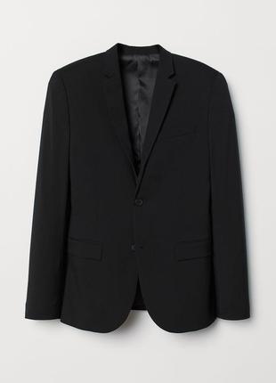 Черный пиджак h&m, skinny fit !