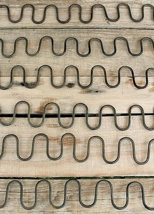Пружина Зиг-Заг / Пружина Змейка / Пружина для Мебели (длина 49 с