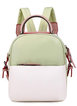 Рюкзак, городской рюкзак, мятный. тренд.