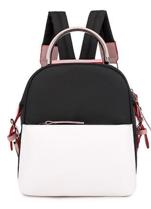 Рюкзак, городской рюкзак, черный. тренд.