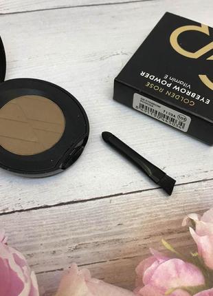Тени для бровей golden rose eyebrow powder 103 к. 1113