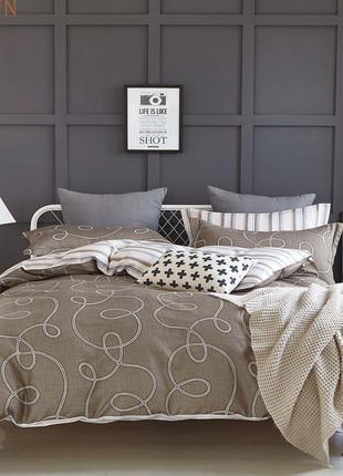 Двухспальный комплект постельного белья № 17157