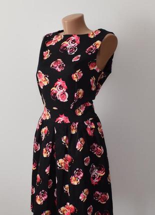 Хлопковое платье в розах atmosphere коттон