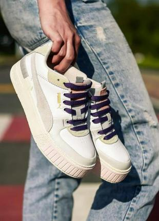 Кросівки puma cali sport mix white marshmallow кроссовки