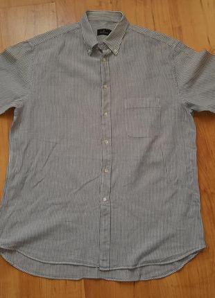 Рубашка мужская летняя большой размер