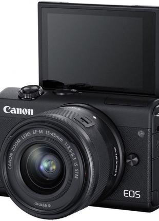 Canon EOS M200 kit (15-45mm) IS STM Black