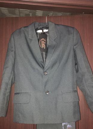 Пиджак на мальчика для школы