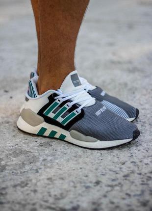 Adidas eqt support повседневные мужские кроссовки адидас в сер...
