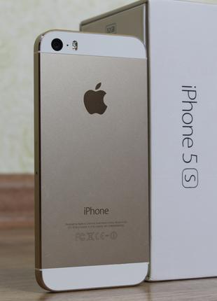 "Apple iPhone 5S-32GB GOLD (original) ""Возможен ОБМЕН"""