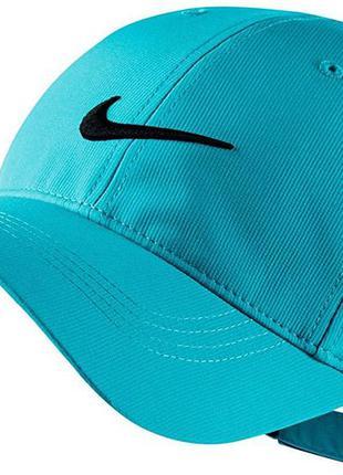 Легкая бирюзовая унисекс кепка бейсболка nike tech cap unisex ...