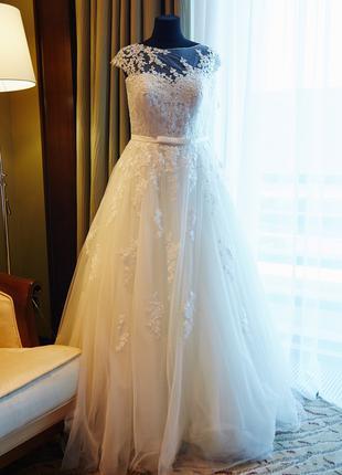Свадебное платье А-силуэт Love Bridal London