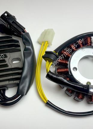 Генератор реле зарядки Suzuki GSXR статор регулятор джиксер