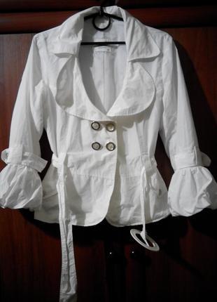 Ветровка пиджак женская лето