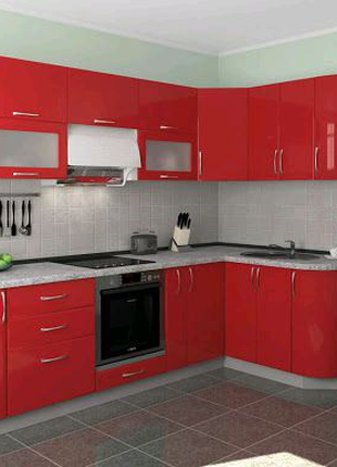 Продам кухни модульные! мдф, пленка, краска, пластик, стекло.