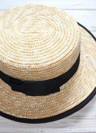 Новая шляпка zara на 6-9лет на объем 54см