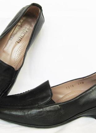 999. туфли-полуботинки majora италия 36 р. стелька 23,5 см