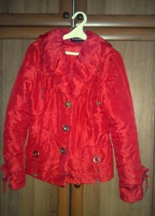 Куртка женская( теплая осень,прохладное лето)